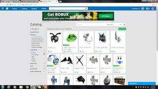 HOW TO GET ANYTHING IN CATALOG FOR FREE (2017) [ROBLOX JUNE]