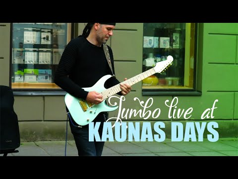 Mr.Jumbo - Dance Of Flames | On Fire (The Roop Cover) Live At KAUNAS DAYS 2020.05.23