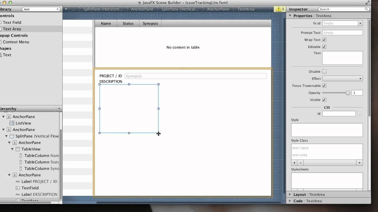 Scene Builder 1 0 with NetBeans 7 2