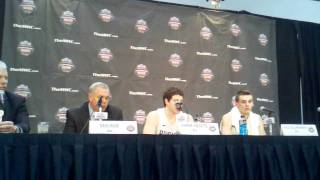 Jimmer Fredette post-game, BYU vs. UNM at MWC Tournament