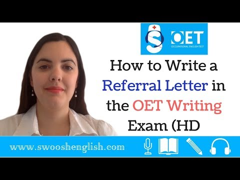 How to Write a Referral Letter in the OET Writing Exam (HD)