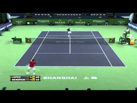 Lopez - Berdych /Shangai 2011 Highlights/