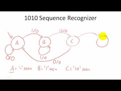 Design Example: Sequence Recognizers - YouTube