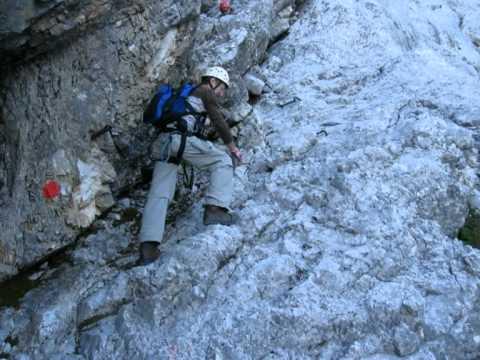 Klettersteig Zugspitze Stopselzieher : Zugspitze von ehrwald über den stopselzieher youtube