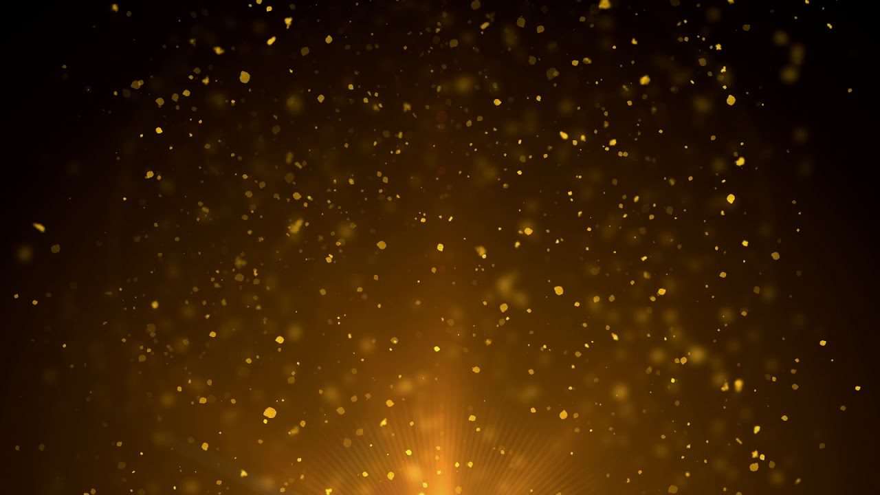 gold dust particles free animation loop background youtube gold dust particles free animation loop background