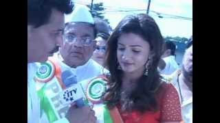 ITV Report by Ashok Vyas on INDIA DAY PARADE NEW JERSEY, 12 Aug 2012