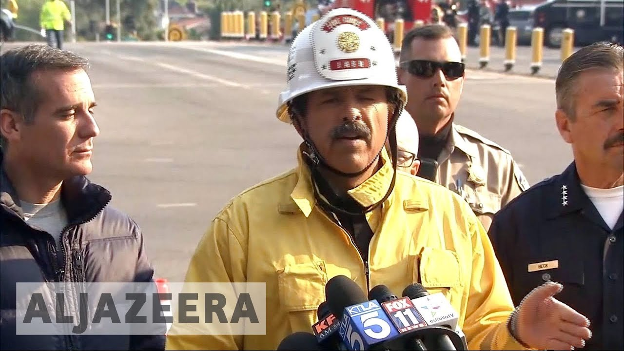 California wildfires bring destruction to Los Angeles suburbs