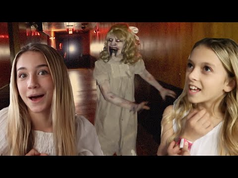 Queen Mary Dark Harbor 2018 | Lullaby Haunted Ship Maze | Quinn Sisters