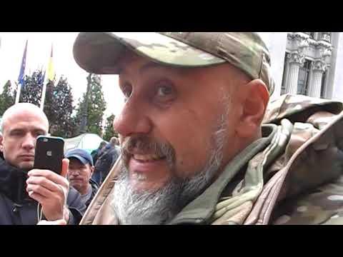 Отставной Бродяга: Микола Греков спілкується з консультантом приймальні Президента