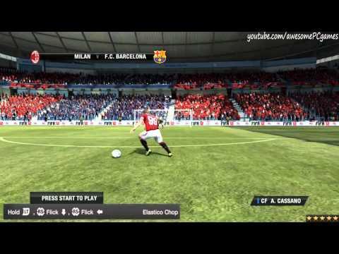 FIFA 12 - Все 45 финтов в игре. Видео урок