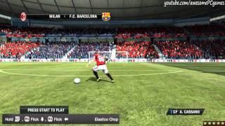 FIFA 12 - Все 45 финтов в игре. Видео урок(Детали на http://fifaonline.com.ua/ или вконтакте http://vk.com/fifasoccer_news . Автор: awesomePCgames (http://www.youtube.com/user/awesomePCgames), 2011-09-23T09:07:33.000Z)