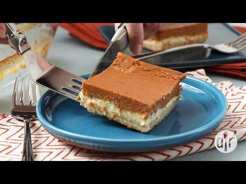 How to Make Perfect Pumpkin Cheesecake Bars | Dessert Recipes | Allrecipes.com