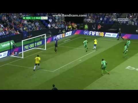 DJALMINHA magic skill vs Nigeria (Star Sixes 2017)