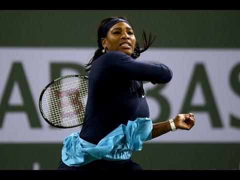 2016 BNP Paribas Open Second Round | Serena Williams vs Laura Siegemund | WTA Highlights