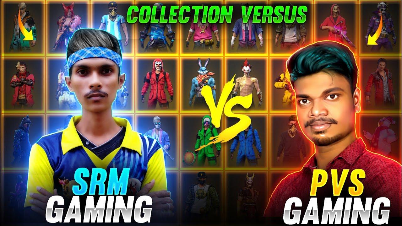 ?பாவம் Hari Scar 30K ? !! SRM GAMING vs PVS GAMING Tamilnadu Richest Rare Collection Battle Video