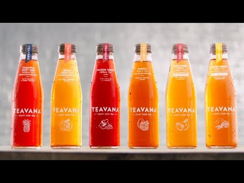 Teavana Bottled Craft Iced Tea