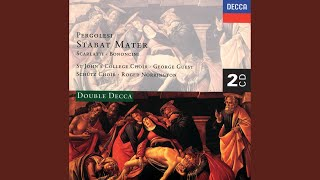 Scarlatti: Stabat Mater - Stabat mater dolorosa