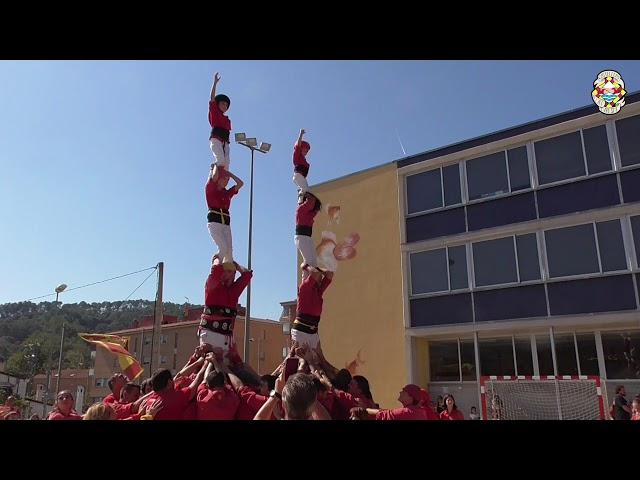 2xP4 Castellers Alt Maresme @ FM Sant Cebria de Vallalta (29/09/2019)