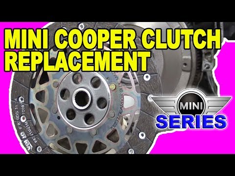 How To Replace A Clutch and Flywheel Mini Cooper S (R56)