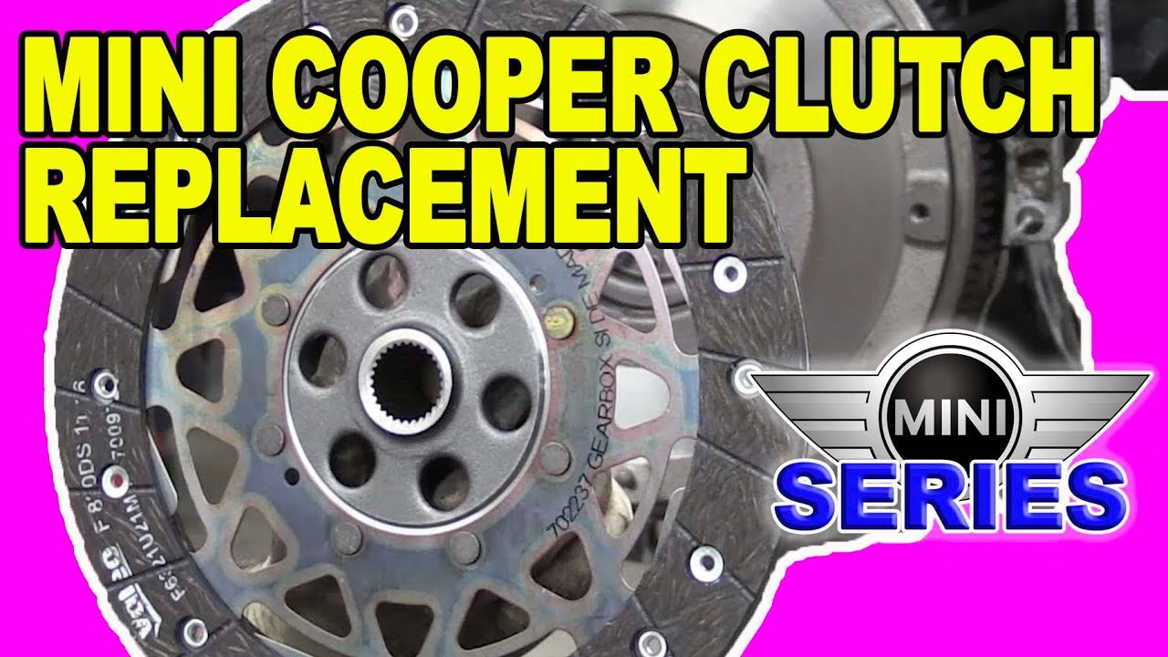 hight resolution of how to replace a clutch and flywheel mini cooper s r56
