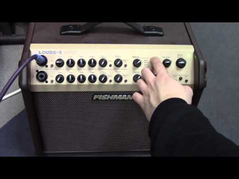 Fishman Loudbox Artist Acoustic Amplifier Demo