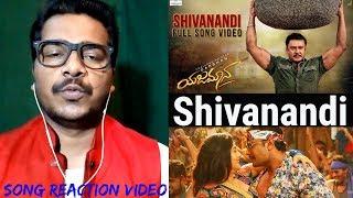 Shivanandi Song #REACTION Video | Yajamana | Darshan Thoogudeepa | V Harikishna | Oye Pk | Rashmika