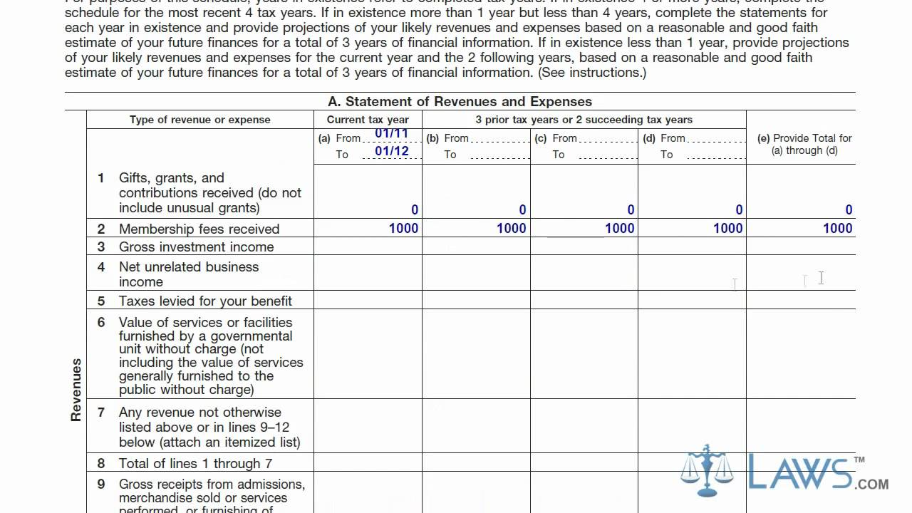 Learn how to fill the form 1023 application for recognition of learn how to fill the form 1023 application for recognition of exemption youtube falaconquin