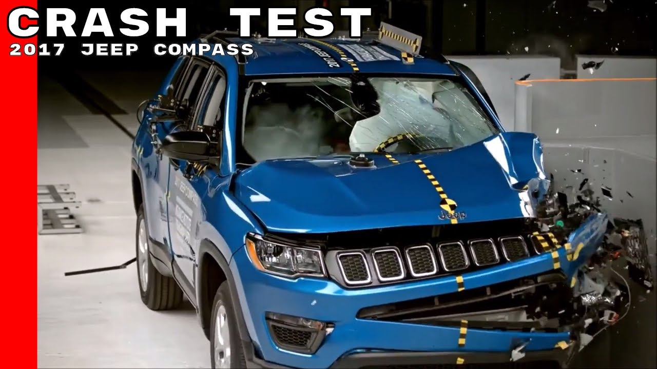2017 Jeep Compass Crash Test Rating Youtube