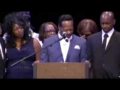 The Hawkins Family Speak at Walter Hawkins Memorial Service  Part 1