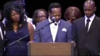 The Hawkins Family Speak at Walter Hawkins Memorial Service - Part 1