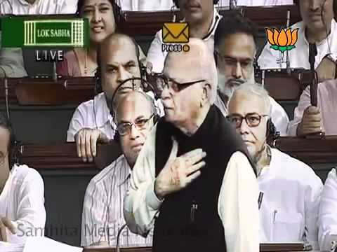 Speech in Lok Sabha:  Cash for Vote Scam: Sh. Lal Krishna Ad
