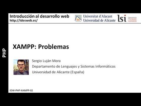 php:-xampp-problemas