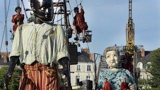 Le mur de Planck : Grand-Mère et le Petit Géant à Nantes