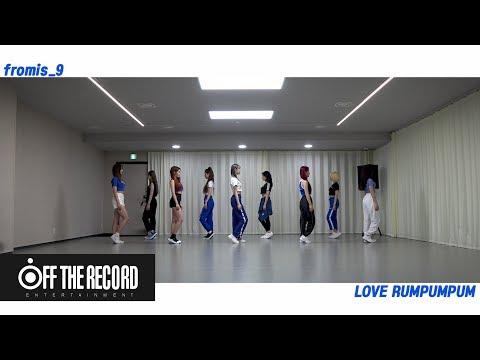프로미스나인 (fromis_9) - LOVE RUMPUMPUM Choreography