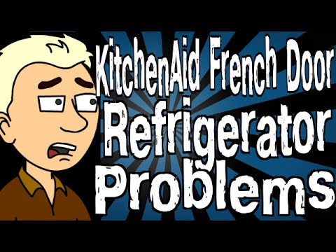 KitchenAid French Door Refrigerator Problems - YouTube