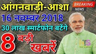 Anganwadi/Asha Latest News Today 2018   Worker Salary/Vetan Hindi  आंगनवाड़ी आशा वेतन लेटेस्ट न्यूज़