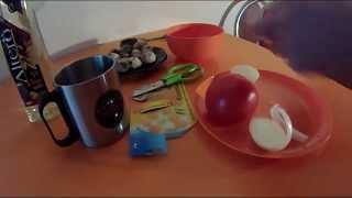 Перепелиная яичница с луком и помидорами - полезны ли яйца?