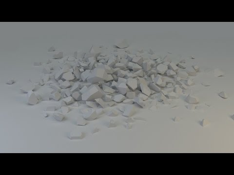 How to make a Rock Pile in Blender 2.73! ( Easy )