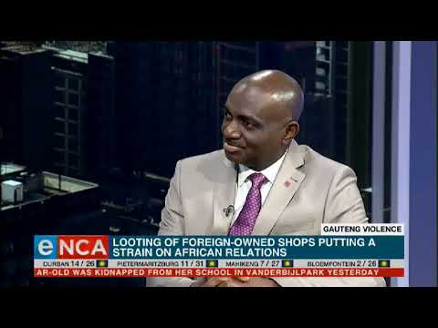 Nigeria speaks on Gauteng violence