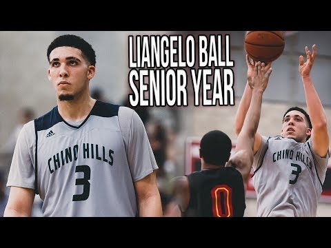 LiAngelo Ball Senior Year FULL HIGHLIGHTS - UCLA's Ball Brother #2 On The Way!