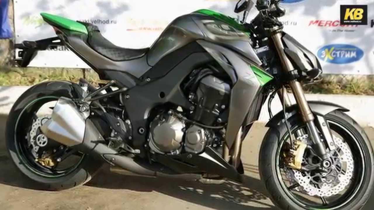 Обзор нового мотоцикла Kawasaki Z650 (ER-6n) 2017 - YouTube