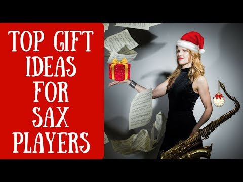 Top 10 Gift ideas for saxophone players / saxophonists 🎶  suggestions / christmas / birthday