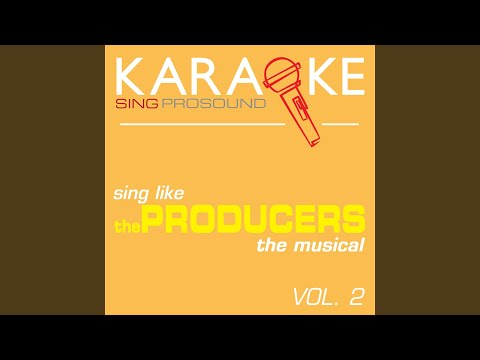 I Wanna Be a Producer (In the Style of Producers) (Karaoke Instrumental Version)