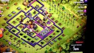 Clash of clans -JAE attack