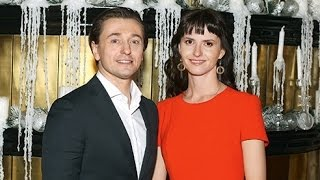 Сергей Безруков и его жена Анна Матисон ждут ребенка