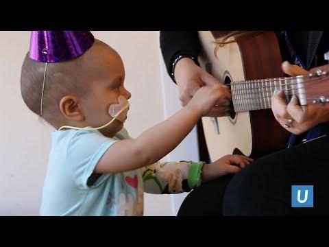 Music Therapy Program | UCLA Mattel Children's Hospital