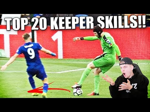 TOP 20 ZIEKSTE KEEPER SKILLS IN VOETBAL!!