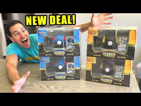 *GET HIDDEN FATES FOR CHEAP AT TARGET!* Opening Pokemon Cards Ultra Ball and Great Ball Boxes!