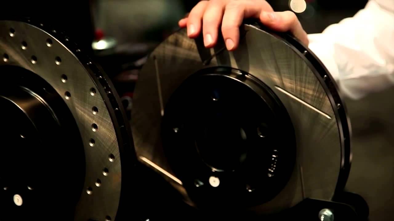 Ebc Sport Rotors >> StopTech SportStop Brake Rotors by Power Slot Review - SEMA 2013 - YouTube