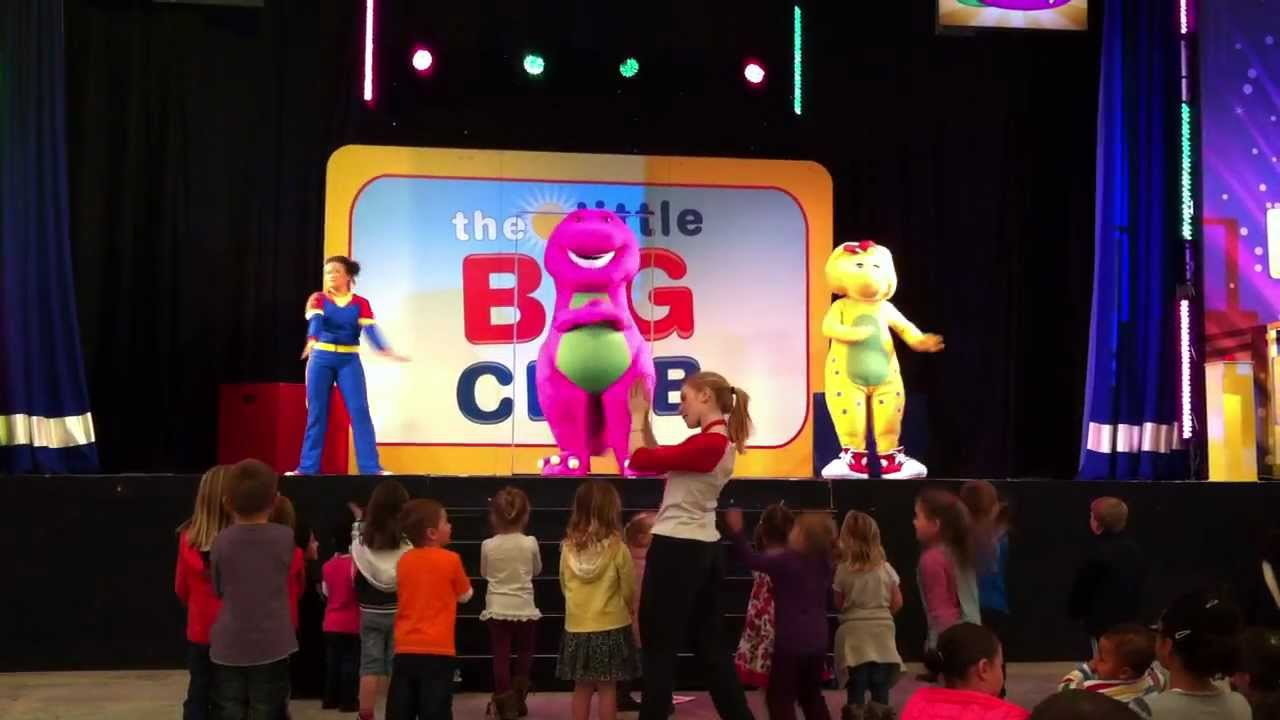 Barney The Dinosaur Live The Clapping Song The Little Big